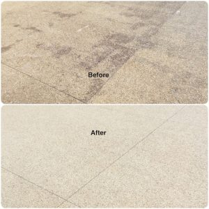 Before & After Continuous Cleaning Co Pressure Cleaning