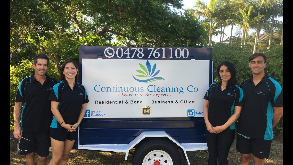 Continuous Cleaning Co Team